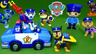 Paw Patrol Ultimate Rescue Police Pups and Ryans World Policeman Surprise Blind Bag Toys Video!