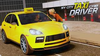 New York Taxi Driving Sim 3D | Best 3D Action Games