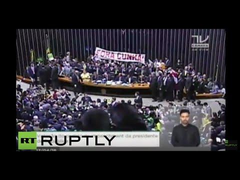LIVE: Brazilian National Congress votes on impeachment procedures against President Rousseff