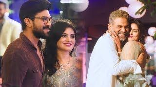 Allu Arjun Brother Allu Bobbyand#39;s Wedding Reception Full Video | Chiranjeevi | Ram Charan Filmylooks