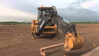 new JOHN DEERE 325К backhoe loader