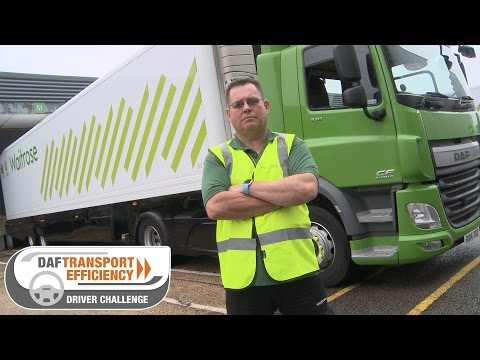 DAF Transport Efficiency Driver Challenge - Meet the Finalists: Peter Edwards