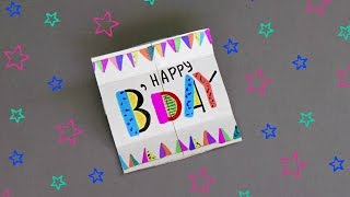 DIY - ENDLESS CARD FOR BIRTHDAY - TUTORIAL / DIY CARDS