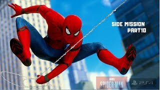 Spider-Man PS4 Game Play #10 Side Mission
