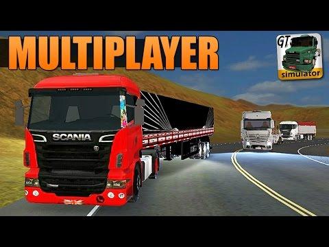 Grand Truck Simulator Multiplayer - MEGA COMBOIO + ACIDENTE!