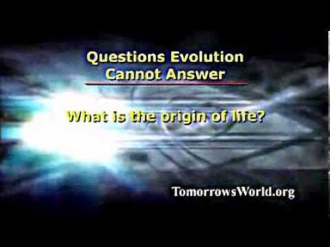Questions Evolution Cannot Answer - Mr. Richard Ames