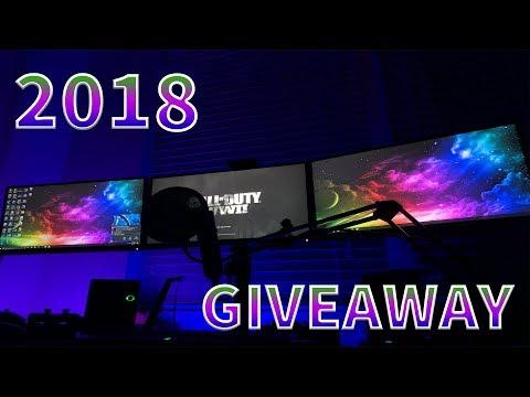 PettyGang Gaming Late 2018 Living Room Gaming PC Setup + Giveaway