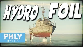 HYDROFOIL Attack Boat | PGH-2 Gas Turbine Water JETS (War Thunder Naval Forces)