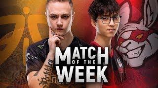 EU LCS Match of the Week: Fnatic vs. Misfits