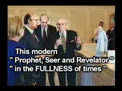 Gordon B.S. Hinckley and  MORmON Reformed Egyptian v