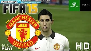 FIFA 15 Manchester United Football Club Faces / Caras