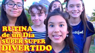 RUTINA de un Día SUPER SUPER DIVERTIDO | TV Ana Emilia