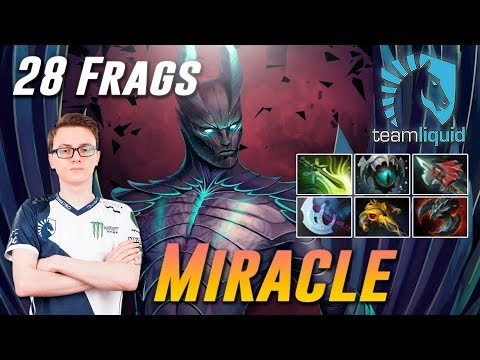 Miracle Terrorblade 28 Frags - Dota 2 Pro MMR Gameplay