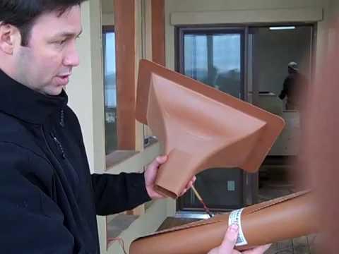 Ipe Deck Drainage System - Trex Rain Escape