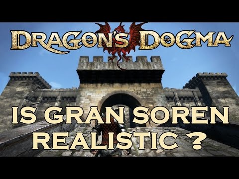 Dragon's Dogma medieval CASTLE review. Gran Soren CITY