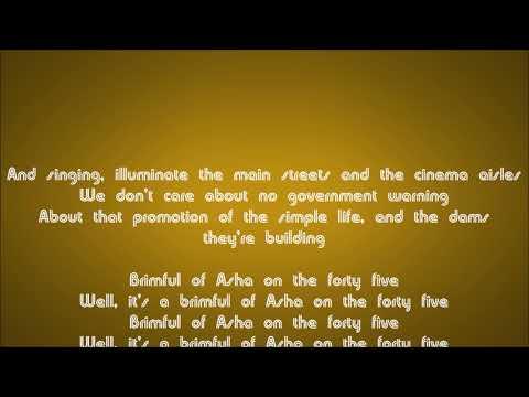 Cornershop - Brimful of Asha (Norman Cook remix) Lyric Video