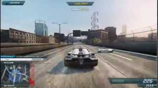 "Need for Speed Most Wanted 2012 ""Koenigsegg Agera R"" Free Driving - ""Top Speed 378 km/h"""