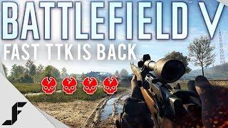 Battlefield 5 DICE Revert TTK change!