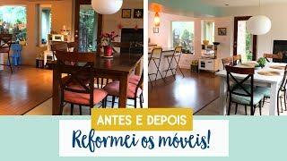 Reformando os móveis da minha casa | Antes e depois • Lu Azevedo