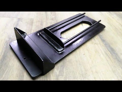 Платформа для фрезера из хлама. Выпиливать кольца фрезером теперь просто!
