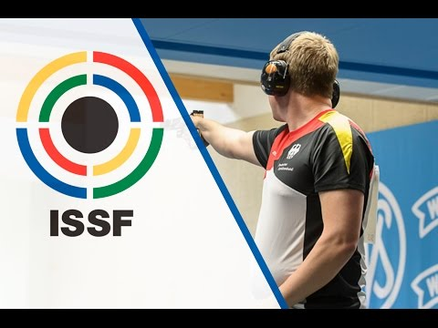 Finals 25m Rapid Fire Pistol Men - 2015 ISSF Rifle and Pistol World Cup in Munich (GER)