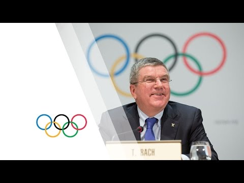 127th IOC Session in Monaco - IOC Press Briefing with President Thomas Bach