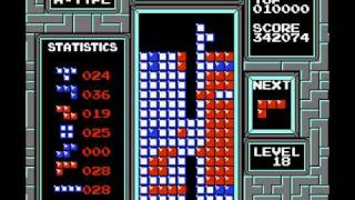 "NES Tetris ""Fastest 999999"" by Acmlm in 03:11.78"