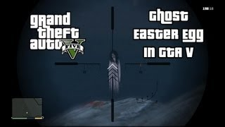 GTA 5 - Scary Ghost Easter Egg (Grand Theft Auto V Gameplay)