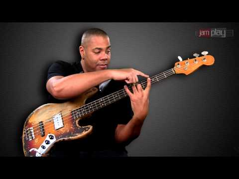 Free Bass Guitar Lesson: Learning The Major Scale With Brent-anthony Johnson video