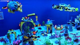 🐠 Expanded LEGO deep sea exploration display! 🐙