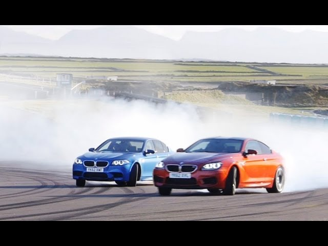 2013 BMW M5 vs. 2013 BMW M6 Coupe at the Track - CAR and ...