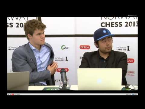 Nakamura-Carlsen post-mortem (Norway Chess 2013)