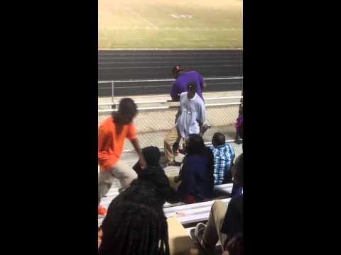 Dancing Man at West Mecklenburg High School