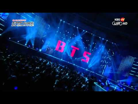 150128 BTS - What Am I To You & Danger in 4th Gaon Music Chart KPop