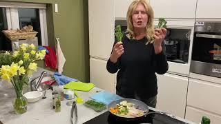 Immune system boosting dinner