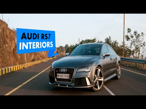 Audi RS 7 Sportback Interiors: PowerDrift