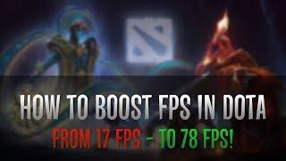 ⏫ How to increase FPS in DotA 2 | 🍋 DotA 2 lag fix | ✅ DotA 2 best settings! | 🔥 DotA FPS BOOST!