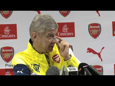 Arsene Wenger pre Liverpool vs Arsenal