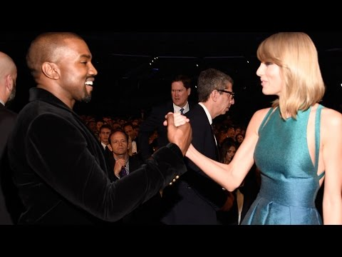 Taylor Swift and Kanye West New BFFs? 2015 Grammys