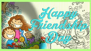 Best Friendship Day Greetings Video for Your Best Buddies - Customize Free Online