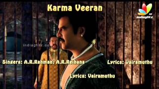 Kochadaiyaan - Kochadaiyaan Songs Review | A.R.Rahman, RajiniKanth, Deepika Padukone | Karma Veeran