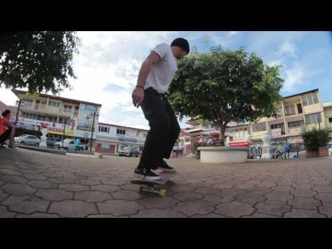 Emir Caballero desde Las Tablas - Skateboarding Panama