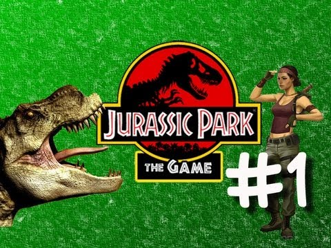 Jurassic Park the Game - Part 1 - One Sexy Lady