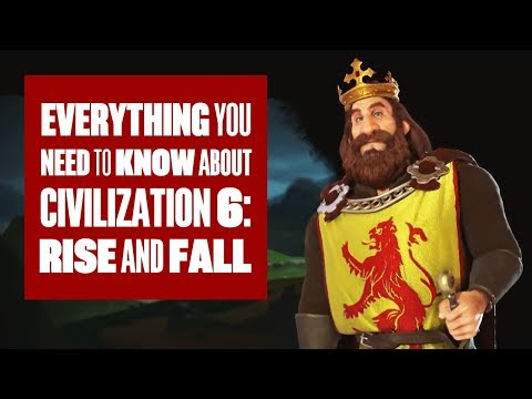 Everything You Need To Know About Civilization 6: Rise and Fall