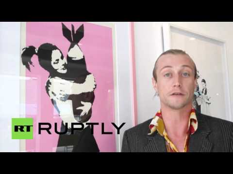 USA: Banksy art expected to fetch more than $500,000 at auction