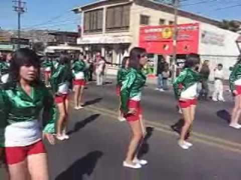 Desfile del 20 de Noviembre del 2009 en Ensenada