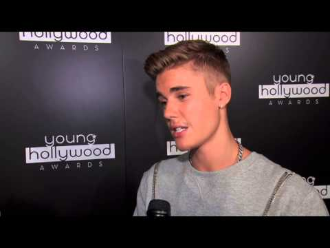 Justin Bieber Interview - Young Hollywood Awards 2014