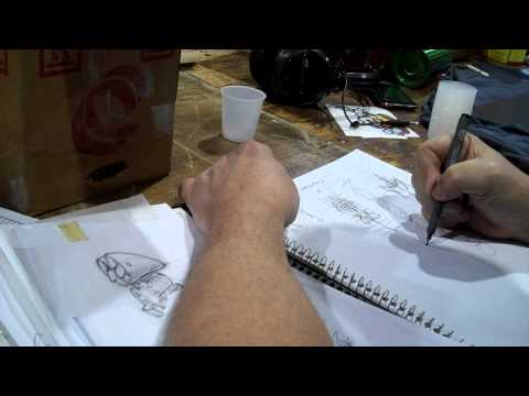 A Pinstriping Lesson from Tramp Warner