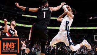 Denver Nuggets vs Portland Trail Blazers Full Game Highlights / Jan 22 / 2017-18 NBA Season