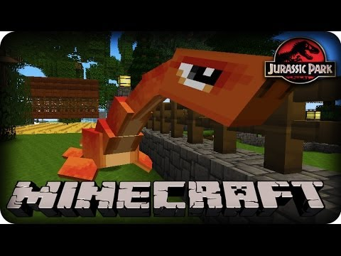 Minecraft Mods Dinosaurs Mod SEASON 2 Ep # 37 DINOS ESCAPE